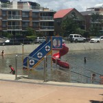 Kids slide at Wynnum