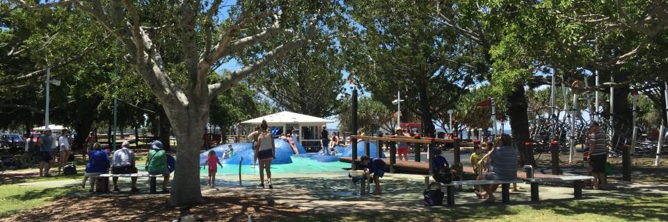 Kids playground at Wynnum