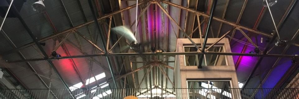 Powerhouse inside